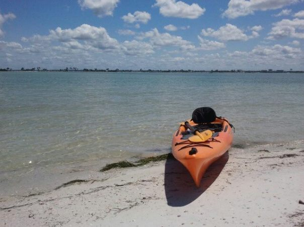 Kayaked Honeymoon Island