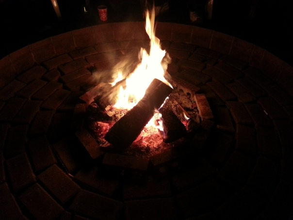 New years firepit