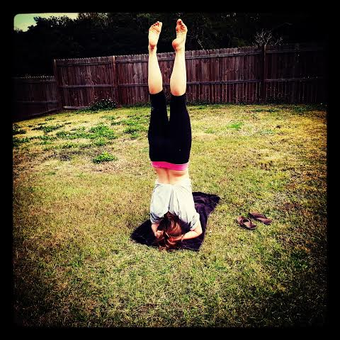 My first headstand!