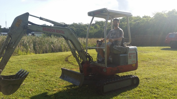 Time to start digging!!!!