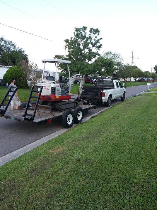 If anyone of you are locals to Brandon/Tampa and need to rent machinery, I highly recommend Brandon Rental, they were awesome!!!