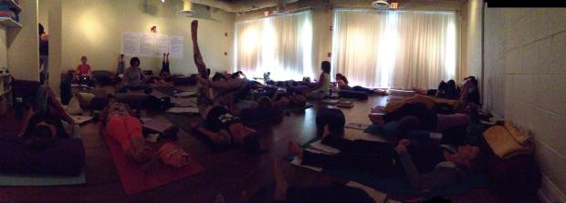 yoga bubble