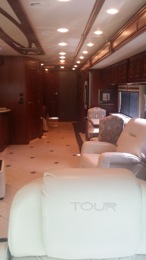 Lazy Days, for like the 100th time, to go look at the 2014 and 2015 Winnebago Tour. Everyday we are one step closer!!!