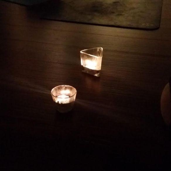 candle gazing