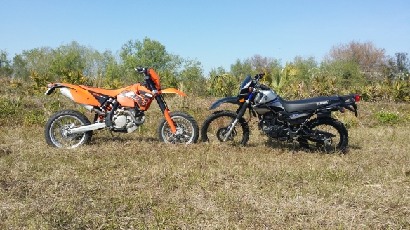 They call it enduro love!